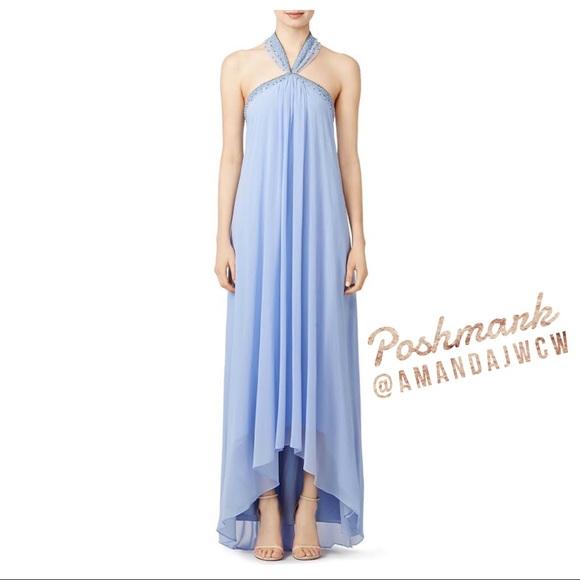 Badgley Mischka Dresses | Flash Sale Periwinkle Gown | Poshmark